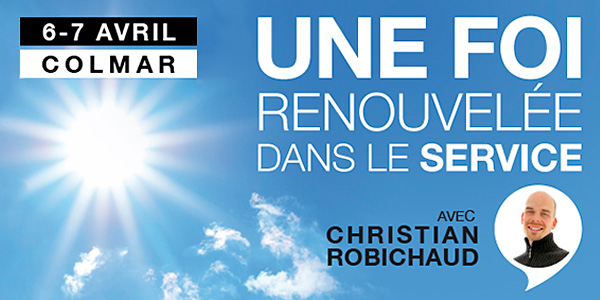 Week-end avec Christian Robichaud - Les 6 et 7 avril